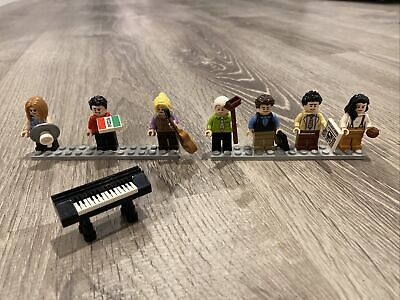 $29.99 • Buy LEGO 21319 Central Perk 7 Minifigures Lot From FRIENDS + Accessories!