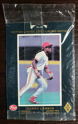 $1.19 • Buy 1993 Post Cereal Baseball Canadian Limited Edition #15 Of 18 Barry Larkin Reds