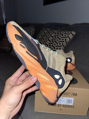 $ CDN373.41 • Buy Adidas Yeezy Boost 700 Enflame Amber Size 9 (Men's) Brand New