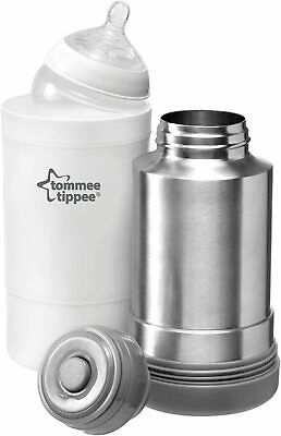 £18.98 • Buy Tommee Tippee Closer To Nature Baby Bottle Food Warmer Flask Compact Travel New
