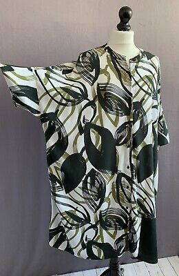 AU42.70 • Buy KIN By JOHN LEWIS Fab Abstract Print Oversized Viscose Shift Dress 12 60  Chest