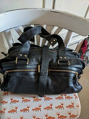 £95 • Buy Mulberry Mabel Large In Black Leather