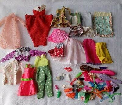 $ CDN10.07 • Buy Lot Of Vintage Barbie Clothes Accessories 70s 80s