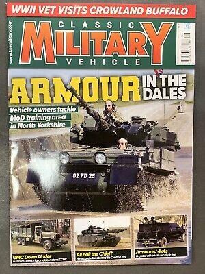£9.49 • Buy Classic Military Vehicle Magazine Issue August 2021