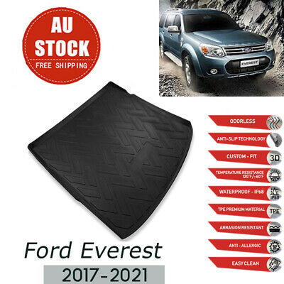 AU38.55 • Buy  Heavy Duty Cargo Mat Boot Liner Trunk Mat For Ford Everest SUV 15-21 Waterproof