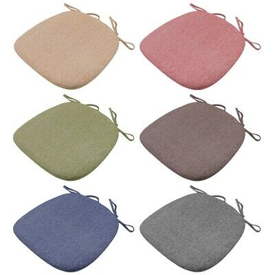 AU18.85 • Buy Foam Chair Cushion Seat Pad Soft Tie On For Dining Office Pillow Mat Strap