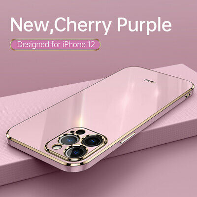 AU7.98 • Buy For IPhone 12 11 Pro Max Plating Shockproof TPU Soft With Ring Case Cover