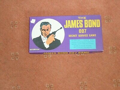 £15 • Buy The James Bond 007 Secret Service Game By Spears 1966 Very Good Condition