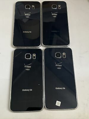 $ CDN60.36 • Buy Lot Of 4 Samsung Galaxy S6  Phones As Pictured For Parts Or Repair,Don't Lt Up