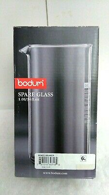 £25.44 • Buy Bodum Spare Glass French Press Replacement Beaker 34 Oz   1508-10