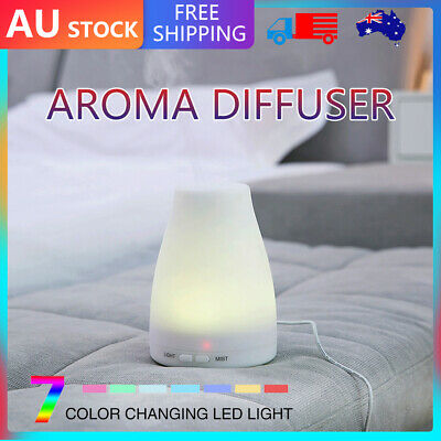 AU18.50 • Buy Essential Oil Humidifier Ultrasonic Air Diffuser Aroma Aromatherapy Air Purifier