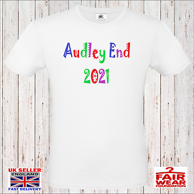 £9.99 • Buy Audley End 2021 Concert T-Shirt 80's Music Festival Hen Stag Party Audley End