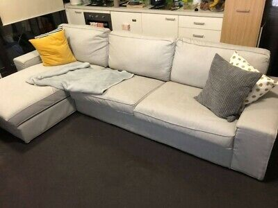 AU299 • Buy Kivik - 4 Seater - Couch + Chaise RRP $899