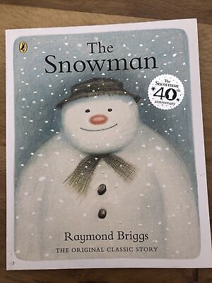 £3.50 • Buy The Snowman By Raymond Briggs - The 40th Anniversary Edition