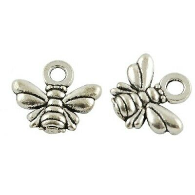 £1.45 • Buy Bee Charms Pendant Tibetan Silver Bumble Pack Of 20