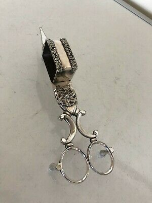 £32 • Buy Silver Plated Pair Of Antique Candle Snuffers