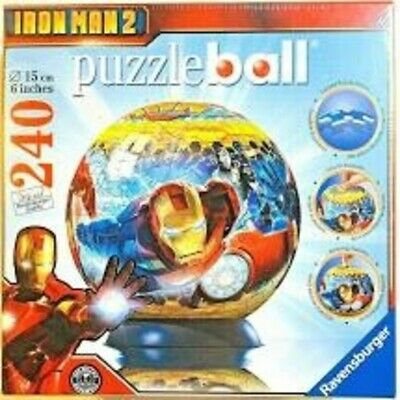 $19 • Buy RAVENSBURGER IRON MAN 2 PUZZLE BALL 240-Pieces - BRAND NEW FACTORY SEALED