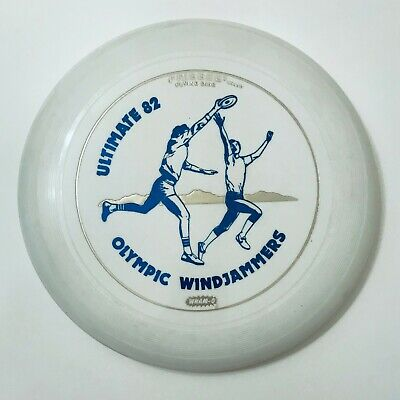 £10.91 • Buy Vintage Frisbee - Wham-o Ultimate 82 Olympic Windjammers  Mold: 80 E