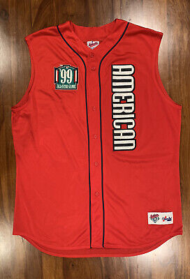 $115 • Buy Majestic Authentic American League 1999 MLB All Star Game Jersey #7 XXL