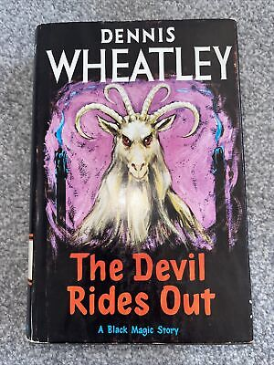 £7.99 • Buy The Devil Rides Out By Dennis Wheatley 1966 MINT COPY