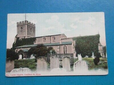 £0.60 • Buy Old Postcard Of The Parish Church,  Chalfont St. Giles.