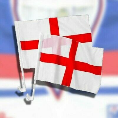 £1.87 • Buy 2x Car Flags England/st Georges