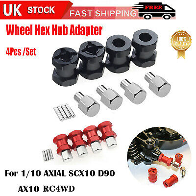 £8.59 • Buy 12mm Wheel Hub Hex Drive Adapter 15/20mm Extension For AXIAL SCX10 RC Crawler 4X