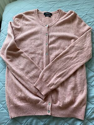 £15 • Buy Ladies Autograph Marks And Spencer 100% Cashmere Cardigan Uk 12