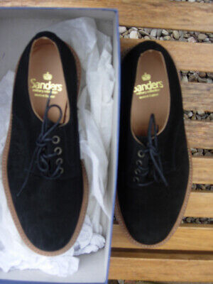 £59.99 • Buy A Pair Of Stunning Black Suede Shoes By Sanders