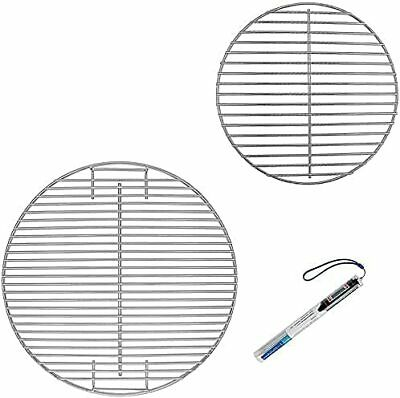 $ CDN77.88 • Buy Denmay 7432 7440 Cooking Grate And Charcoal Grate For Weber 47 Cm Charcoal Grill