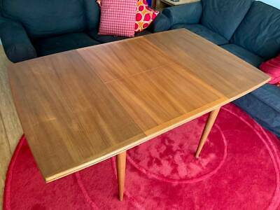 AU1500 • Buy Genuine Park Dining Table Extension / 4 Chairs Mid Century
