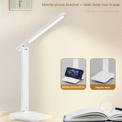 AU13.39 • Buy USB LED Desk Lamp Touch Senor Bedside Table Lamp Study Reading Light Dimmable