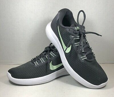 $ CDN62.79 • Buy Nike Womens Lunar Converge 852469-004 Black Gray Running Shoes Lace Up Size 9