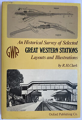 £20 • Buy An Historical Survey Of Selected Great Western Stations: Vol.1, 2 & 3 (2002) GWR