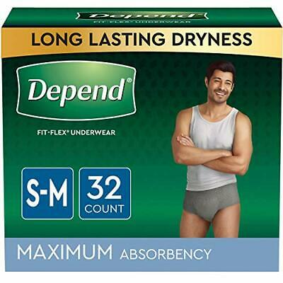 $46.91 • Buy Depend FIT-FLEX Incontinence Underwear For Men Maximum Absorbency Disposable ...