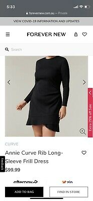 AU49.95 • Buy Forever New Curve 18