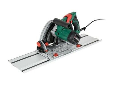 £109 • Buy Parkside Plunge Saw PTSS 1200 C2 With 2-Piece Guide Rail Tilting 165mm Saw Blade