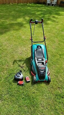 £300 • Buy Bosch Rotak 430 Li Cordless Lawnmower With Two 36 V Lithium-Ion Batteries