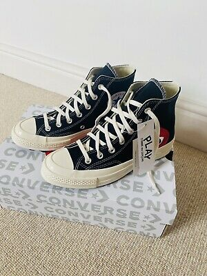 £140 • Buy Converse Chuck Taylor All Star High X Comme Des Garcons Play UK Size 5