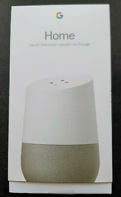 AU37.28 • Buy Boxed 5797 Google Assistant Home Hands Free White Smart Speaker Power Supply