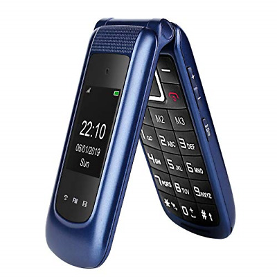 £54.26 • Buy Uleway Big Button Mobile Phone For Elderly, Dual Sim Free Flip Phone Mobile With