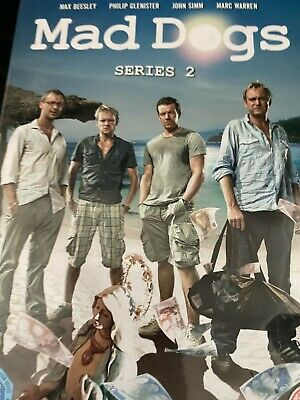 £1.95 • Buy Mad Dogs: Series 2 DVD (2012) Max Beesley  Dvd