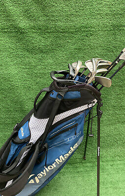 AU708.17 • Buy Full Set Of Golf Clubs Taylormade Irons Taylormade Driver Taylormade Carry Bag