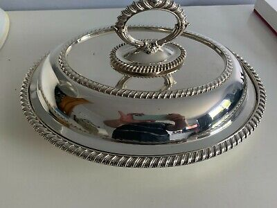 £4.99 • Buy Joseph Rodgers Silver Plated Entree  Dish