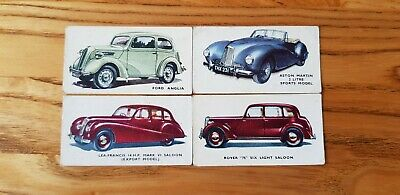£5.99 • Buy 4 Kellogg's Motors Coloured  Trade Cards In Good Condition