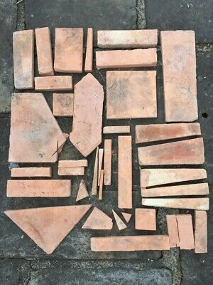 £5 • Buy Terracotta Offcuts For Crazy Paving Or Craft Project