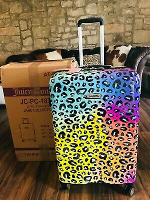 £129.99 • Buy New Juicy Couture Leopard Animal Print Large Size Suitcase R.r.p. $320