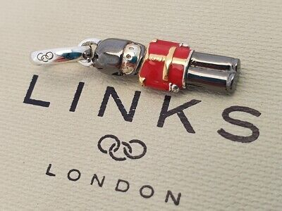£74.99 • Buy RARE Links Of London Beefeater Soldier Charm Pendant Silver Enamel