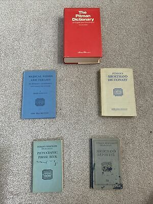 £39 • Buy Pitman Shorthand 5 Book Collection