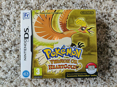 $500 • Buy Pokemon Heartgold BOX Version Brand New Sealed Authentic Nintendo DS 3DS FRENCH